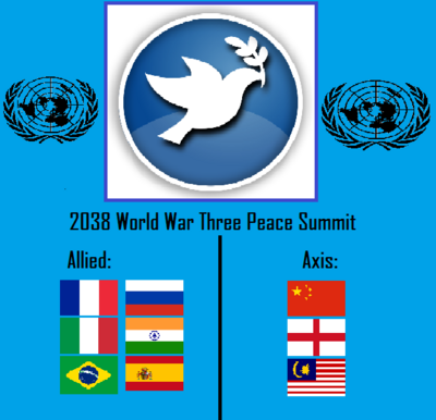 World War III Peace Summit Logo