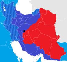 Iran War map 7