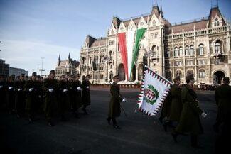 Hungarian pre-war military parade