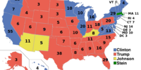United States Presidential Election, 2016 (Adam's President Trump)