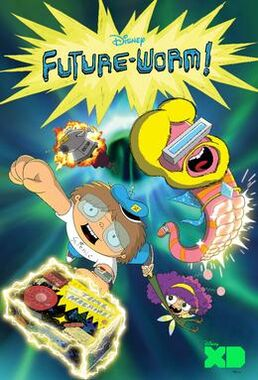 Future-Worm! promotional poster