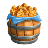 Barrel of Pumpkin Scones