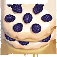 Blackberry Cream Cake