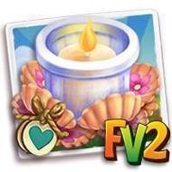 Heirloom Floral Tealight Holder