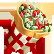 Vegetable Burrito