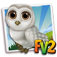 Alabaster Snow Owl