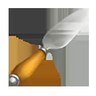Double Edge Cheese Knife