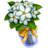 White Water Snowflake Bouquet