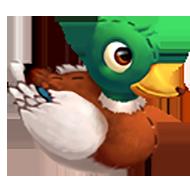 Stuffed Duck Toy