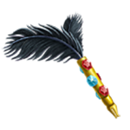 Jeweled Quill