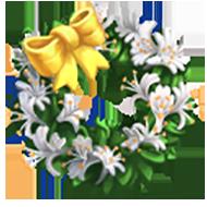 Honeysuckle Wreath