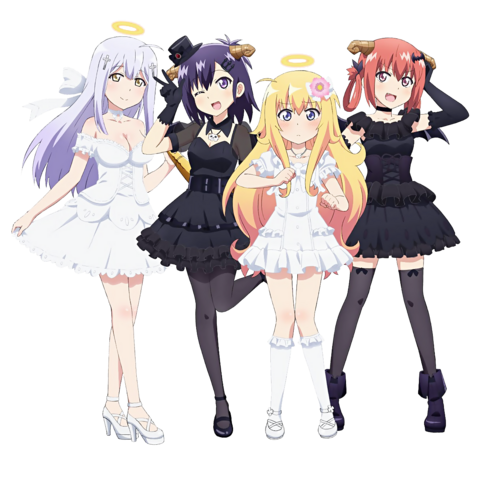 File:Gabriel Dropout Characters - Alternate Costumes.png