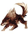 H2k11 wolf brown flip