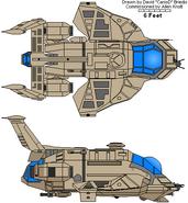 Raptor First Cylon War