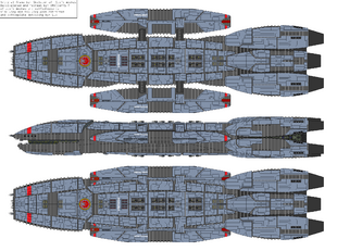 Battlestar Aristoclea - Victorious type