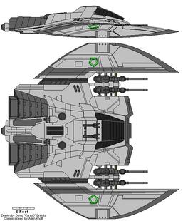 Cylon Raider Mark VIII