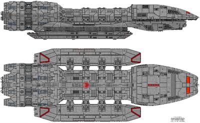 Poseidon Class Warstar (A)
