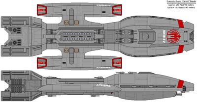 Athena Class Battlestar (B)