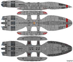 Fenris Class Battlestar