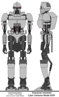 Cylon Centurion Model 005P