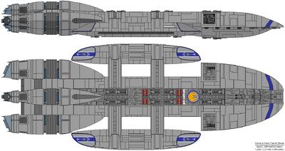 Battlestar Spartan (Spartan Class)