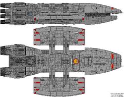 Atlas Class Battlestar
