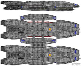 Battlestar Columbia - Columbia Class