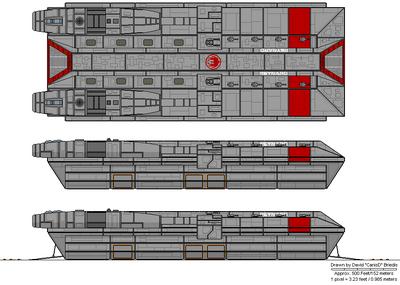 Reynard Class Attack Ship