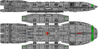 Durga Class Battlestar