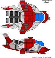 Rescue Raptor Colonial Fleet