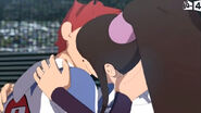 8 D'Jok and Mei's kiss in the final