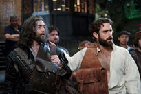 Galavant Off With His Shirt Timothy Omundson Joshua Sasse 02