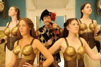 Galavant A New Season Ben Presley as Jester with Golden Globes