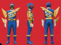 Talon Dino Charge Ranger Form