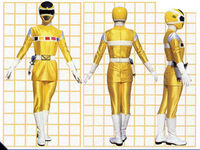 Yellow Space Ranger Form