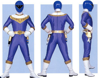Blue Zeo Ranger Form