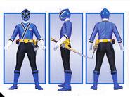 Blue Samurai Ranger Form