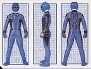 Blue Jungle Ranger Form