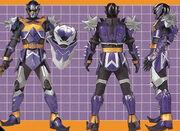 Knight Wolf Ranger Form