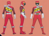 Red Dino Charge Ranger Form2