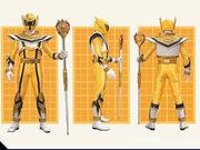 Yellow Mystic Ranger Legend Mode