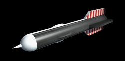 Weapon amour rocket 250