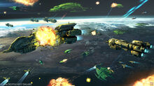Galaxy on fire alliances space battle by hideyoshi-d71tioe