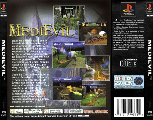 Fájl:MediEvil - Back Cover PAL.JPG