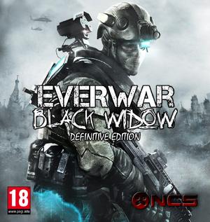 Everwar Black Widow Definitive Edition Cover Art