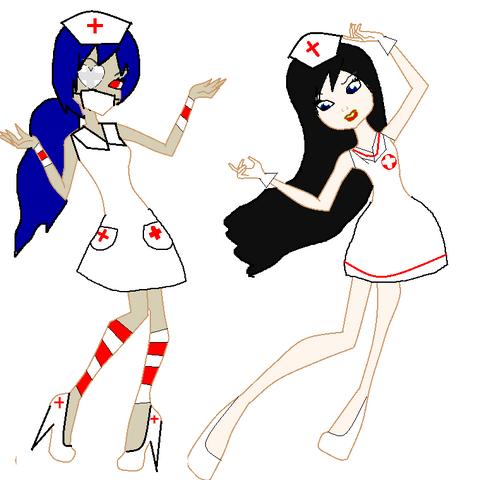 Valeria and Chrissy