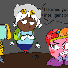 Adventure Time with Pete the dog and Aster the human... And angry PB!Eve.