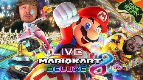 Mario Kart 8 Deluxe LIVE - Mario Kart Playoffs! - Game Society