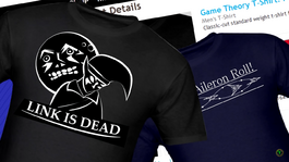The Super Amazing Game Theory Merch Store screen