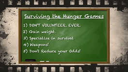 How to SURVIVE the Hunger Games pt. 1 screen